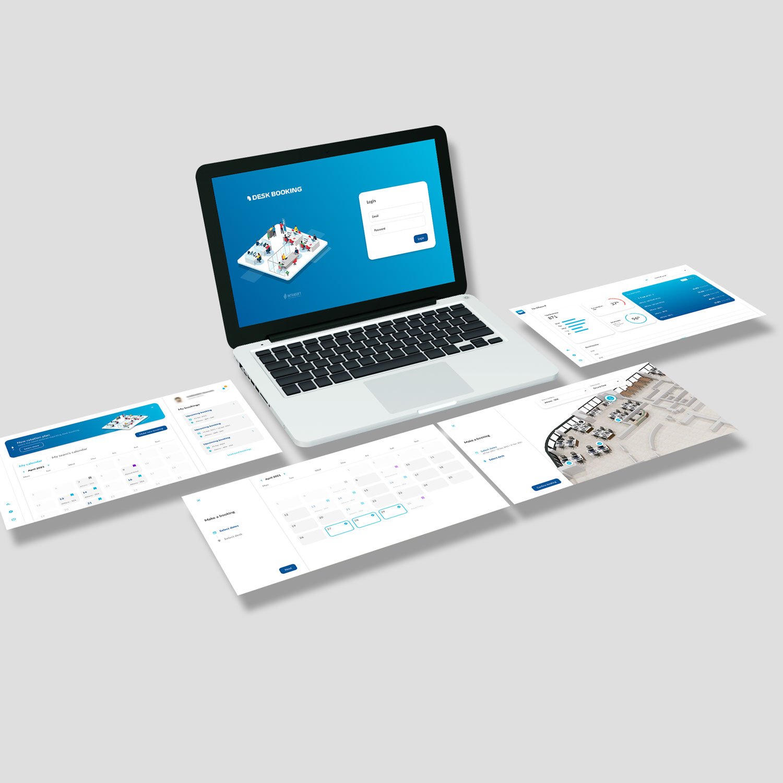 Desk booking - Desktop