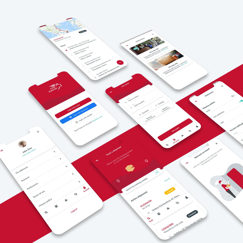 ELTA customer app