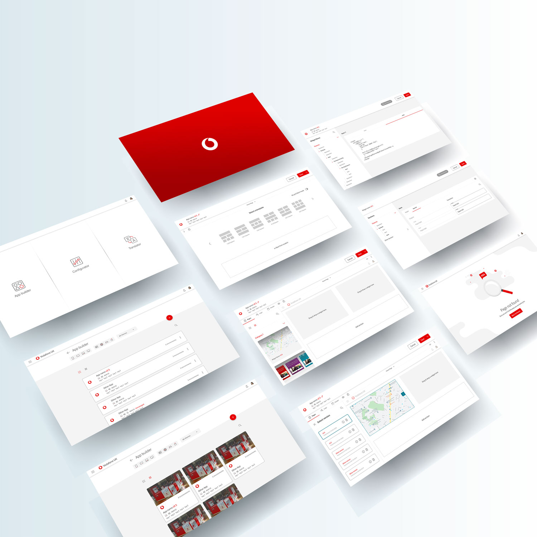 Vodafone app builder