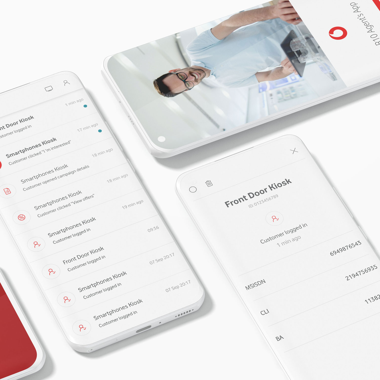 Vodafone inbox - Mobile